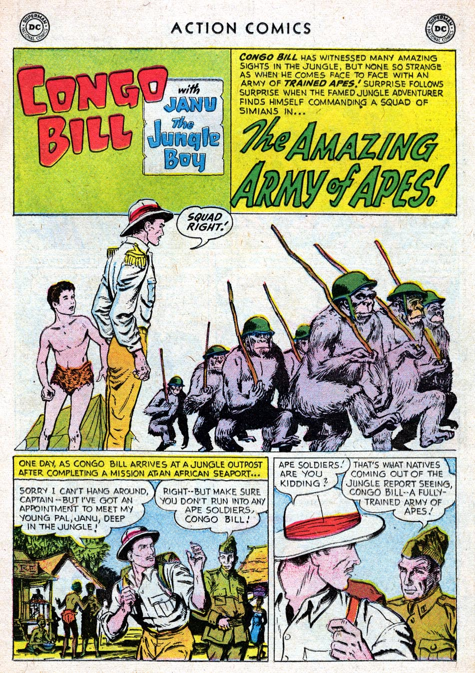 Read online Action Comics (1938) comic -  Issue #219 - 17