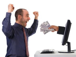 dapat uang dari bisnis online