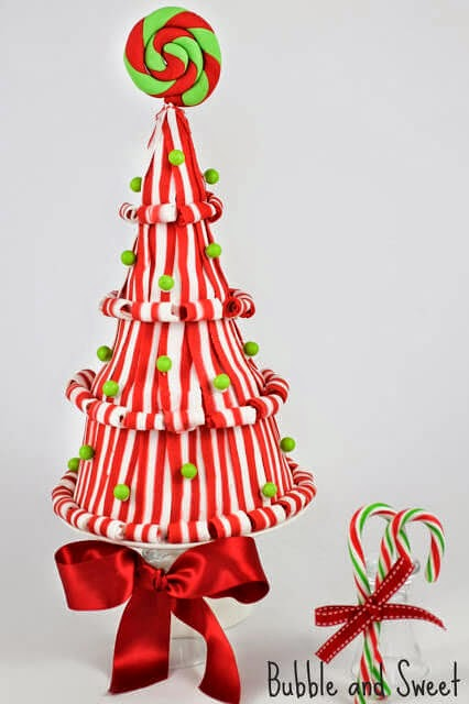Lollipop Christmas Tree Cake, Bubble & Sweet