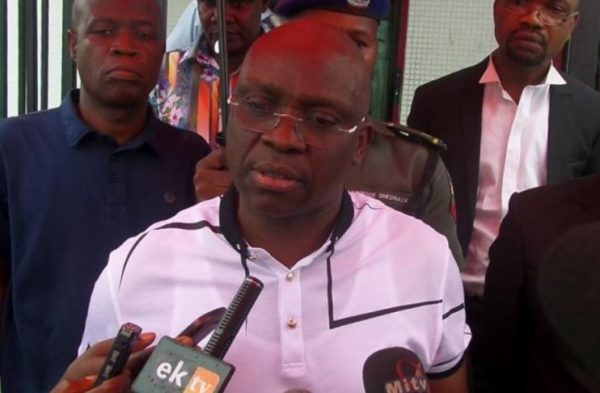 Governor Ayo Fayose Says Buhari now a Part-time and Ceremonial President