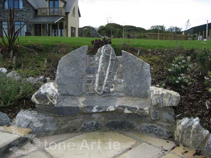 Brilliant Stone Art Blog More On Stone Benches Bralicious Painted Fabric Chair Ideas Braliciousco