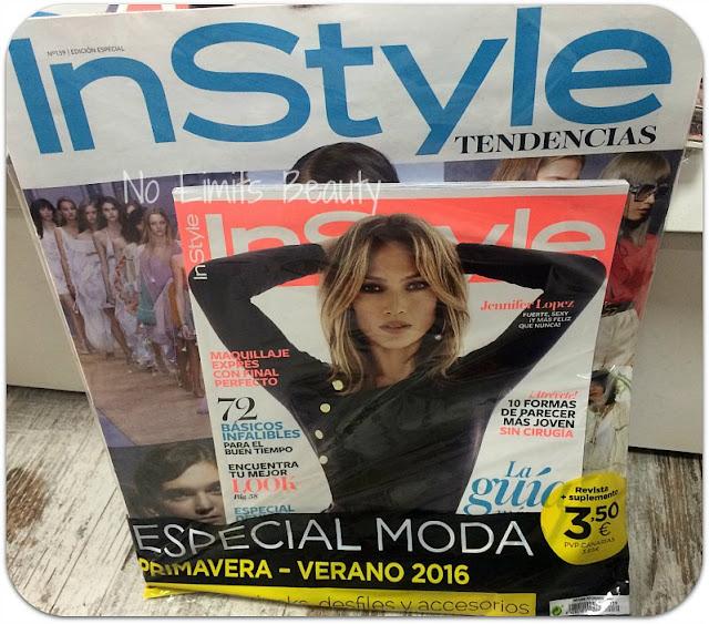 Regalos revistas marzo 2016: In Style