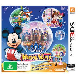 Disneys Magical World 3DS CIA USA
