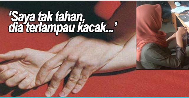 Gadis Tak Tahan Boyfriend Terlampau Kacak, Nekad Rogol Hingga Kemaluan Boyfriend 'BERDARAH'