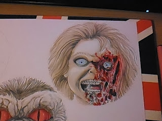 childs play chucky art
