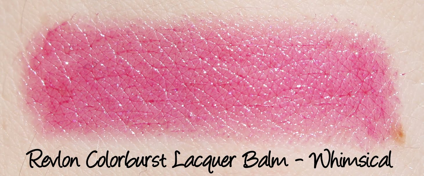 Revlon Colorburst Lacquer Balm - Whimsical Swatches & Review