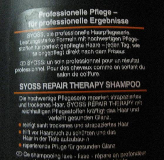 Tresemme shampoo müller