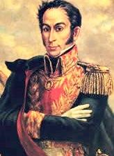 Dibujo de Simón Bolivar para niños