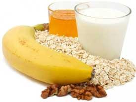 الموز-والحليب-والشوفان