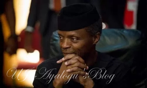 I will sign 2017 budget – Osinbajo