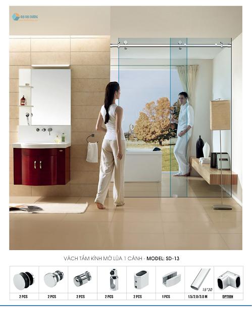 Phòng Tắm Kính - Làm Sao Để Độc Đáo