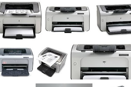 Descargar Driver Impresora HP Laserjet P1006 Windows, Mac, Linux