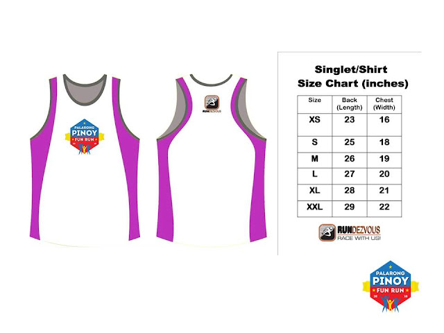 Palarong Pinoy Fun Run Singlet
