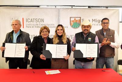 Recibirán ciudadanos de San Miguel de Horcasitas capacitación de Icatson