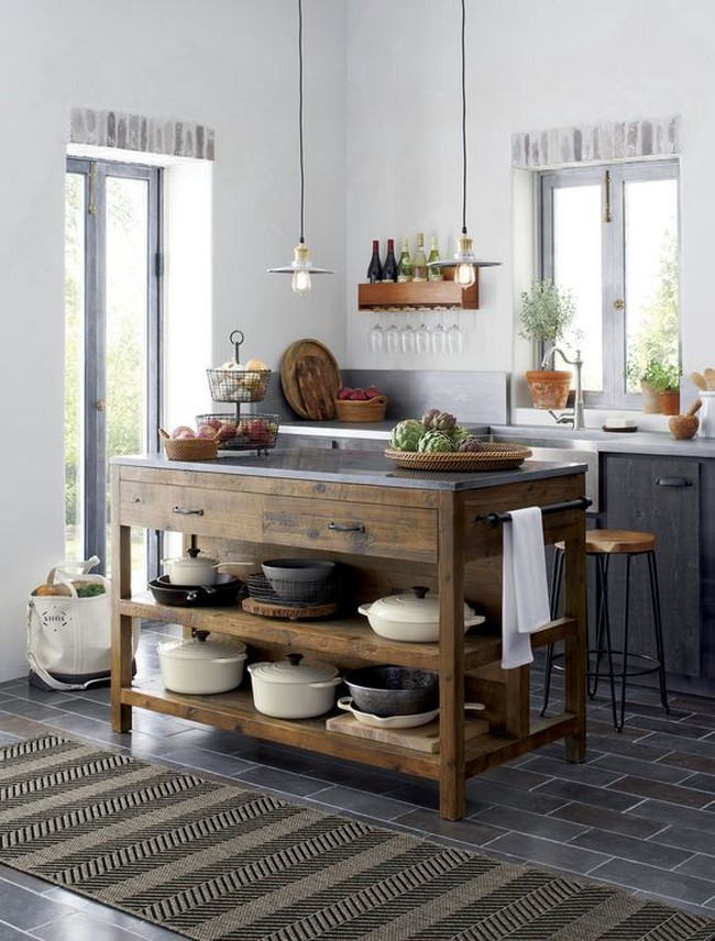 Tips de decoración de cocinas rústicas