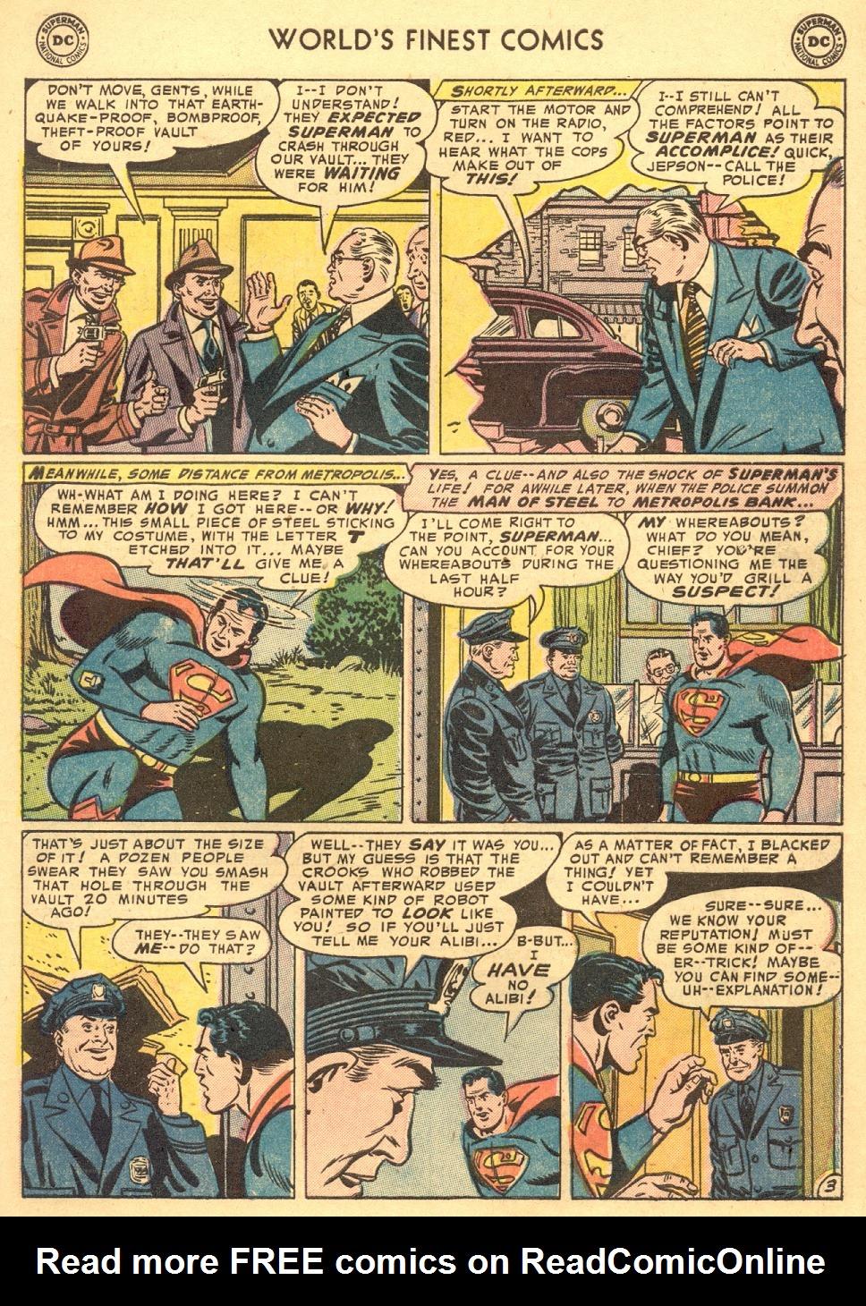Read online World's Finest Comics comic -  Issue #70 - 5