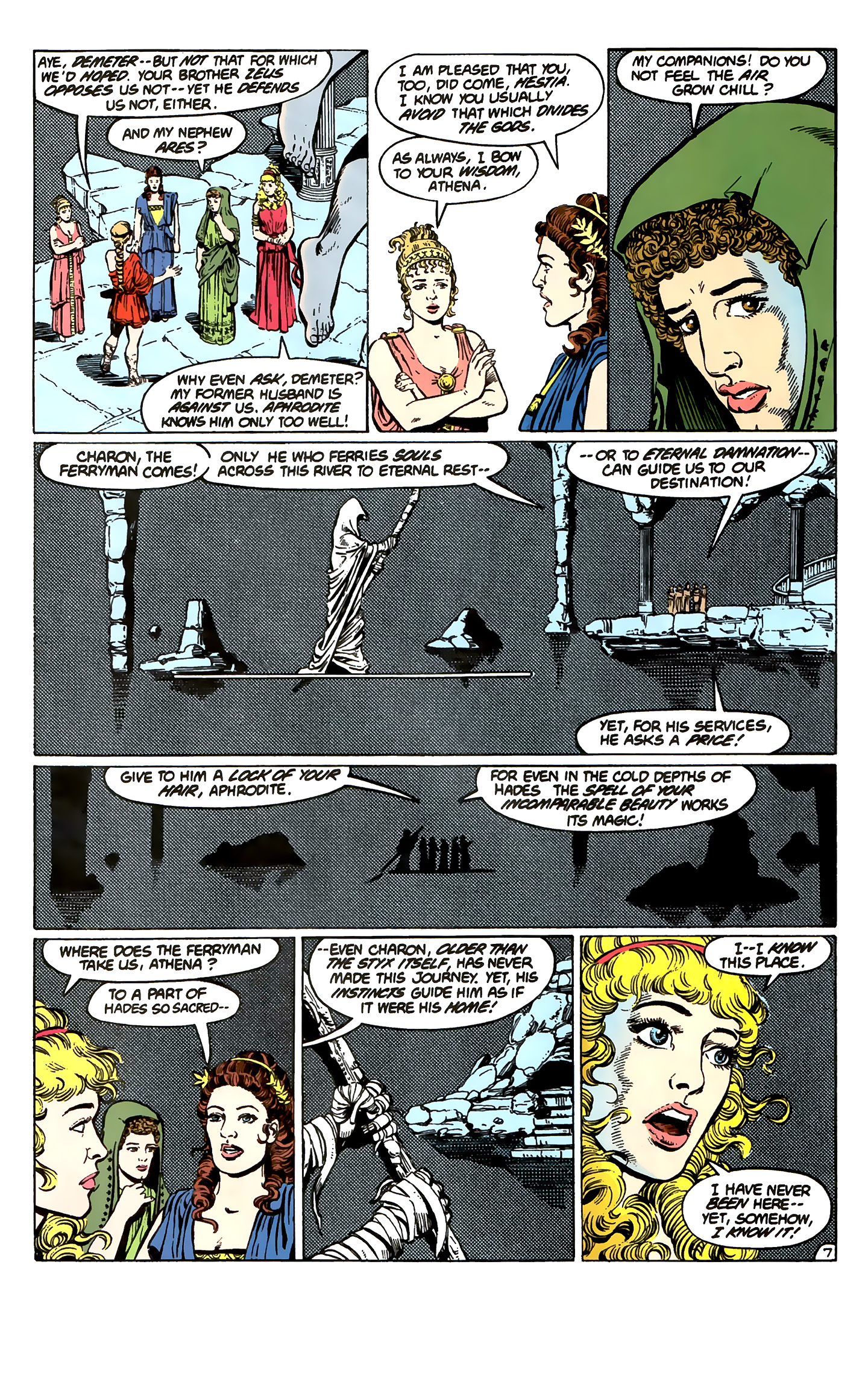 Read online Wonder Woman (1987) comic -  Issue #1 - 9