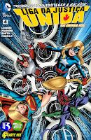 Os Novos 52! Liga da Justiça Unida #4