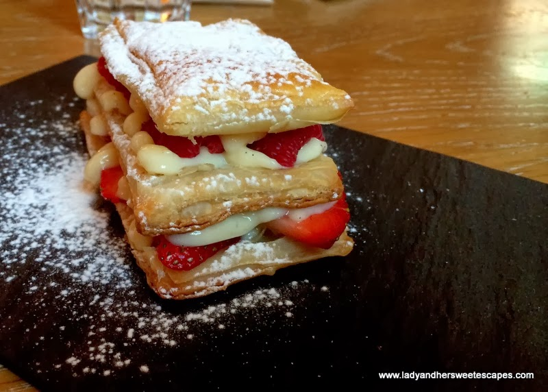 The Gramercy's Mille Feuille