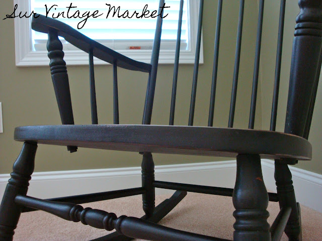 Groovy Sur Vintage Market Rocking Chair Re Do Andrewgaddart Wooden Chair Designs For Living Room Andrewgaddartcom