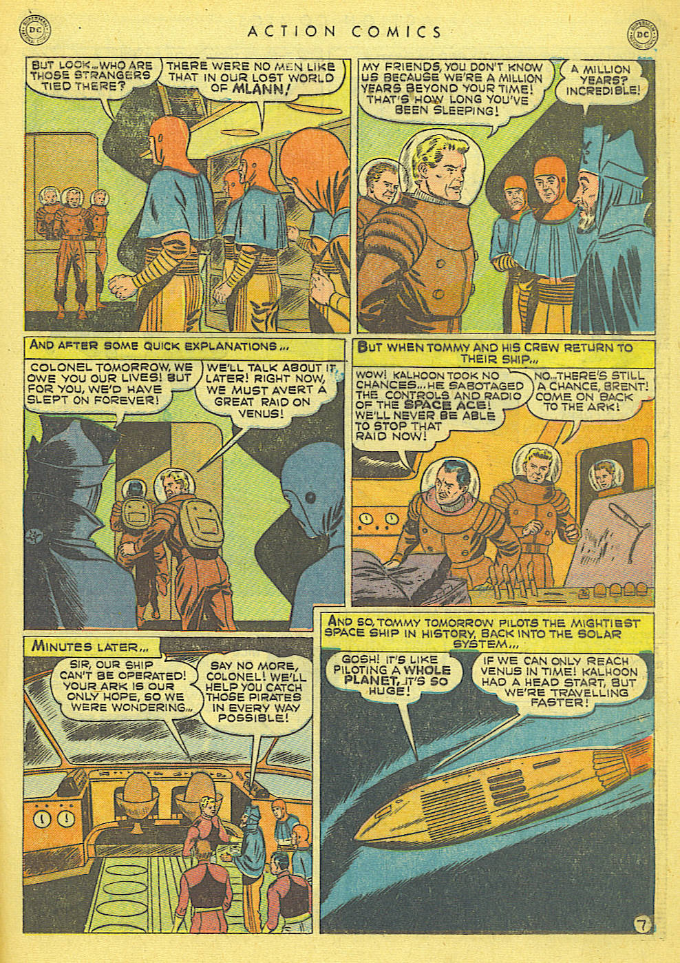 Read online Action Comics (1938) comic -  Issue #152 - 23