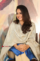 Actress Rakul Preet Singh Stills in Blue Salwar Kameez at Rarandi Veduka Chudam Press Meet  0036.JPG