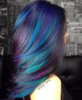 ทรงผมสีฟ้า-ม่วง