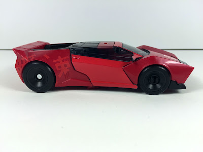 transformers robots in disguise warrior sideswipe car