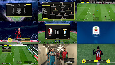 PES 2019 Scoreboard Sky Sport and DAZN Italy 2019 by Hoppus 117
