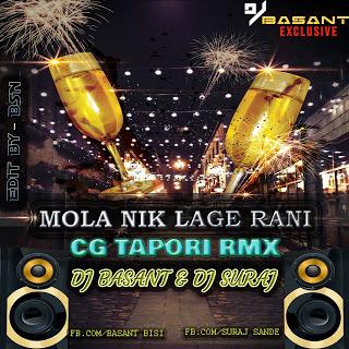 Mola Nik Lage Rani Lali Lali Lugra Ha Tor dj Basant dj Suraj Chhattisgarhdj.com Cg Style mix CG Tapori Mix