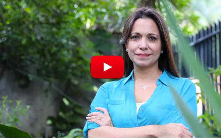 María Corina Machado en la mira de Nicolás y Diosdado