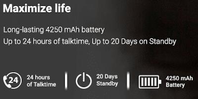 lenovo 4250 mah battery life