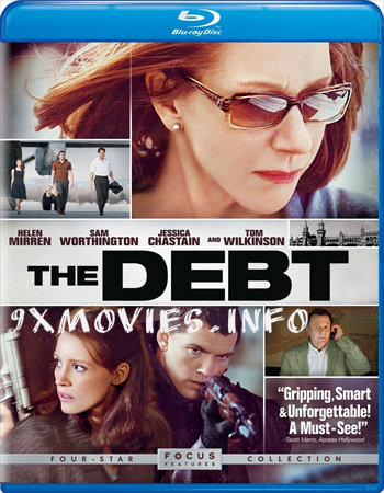 The Debt 2010 Dual Audio ORG Hindi 720p BluRay 900mb
