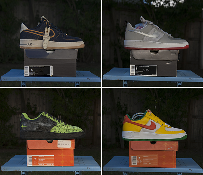 d25397e1cbe0c 2003 Nike Air Force 1 'Notting Hill Carnival', 307334 781, DS condition,  mens 9