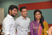 Nani and Keerhi Suresh at Facebook Office-thumbnail-2