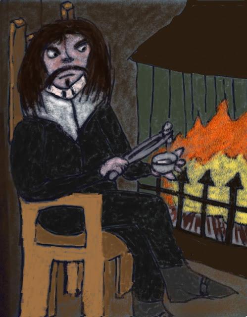 Cartesio scioglie la cera al fuoco