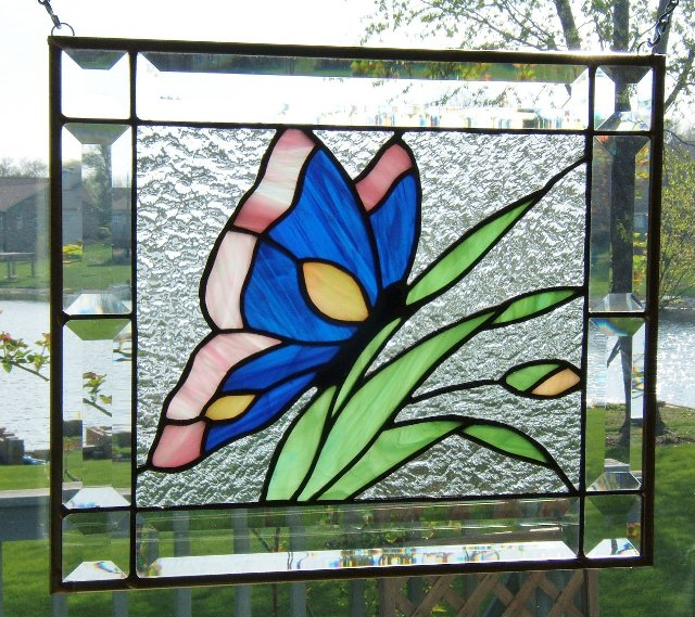 Stained GLASS WINDOW Hangings Panels