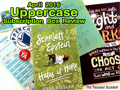 April 2016 Uppercase Subscription Box Review by The Treasured Bookshelf