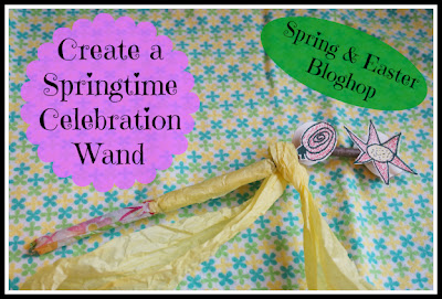 create a spring celebration wand