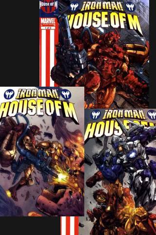 House of M: Iron Man 1-3 PDF