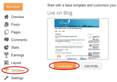 Remove or Hide Blogger Navbar