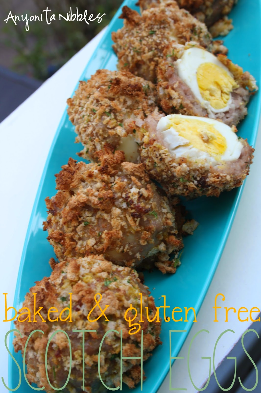 British picnic food: Scotch Eggs made Gluten Free from Anyonita Nibbles