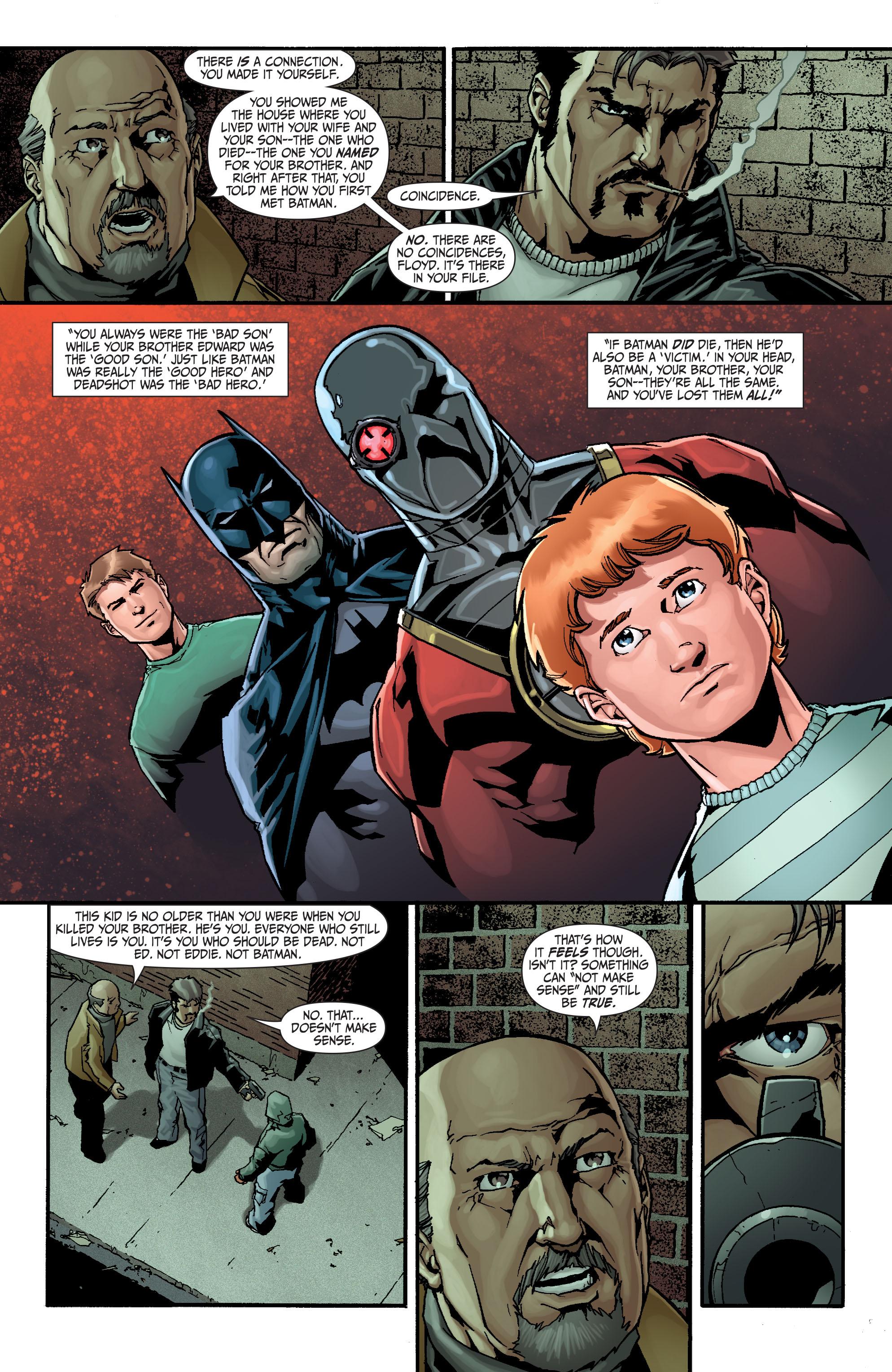 Read online Secret Six (2008) comic -  Issue #15 - 22