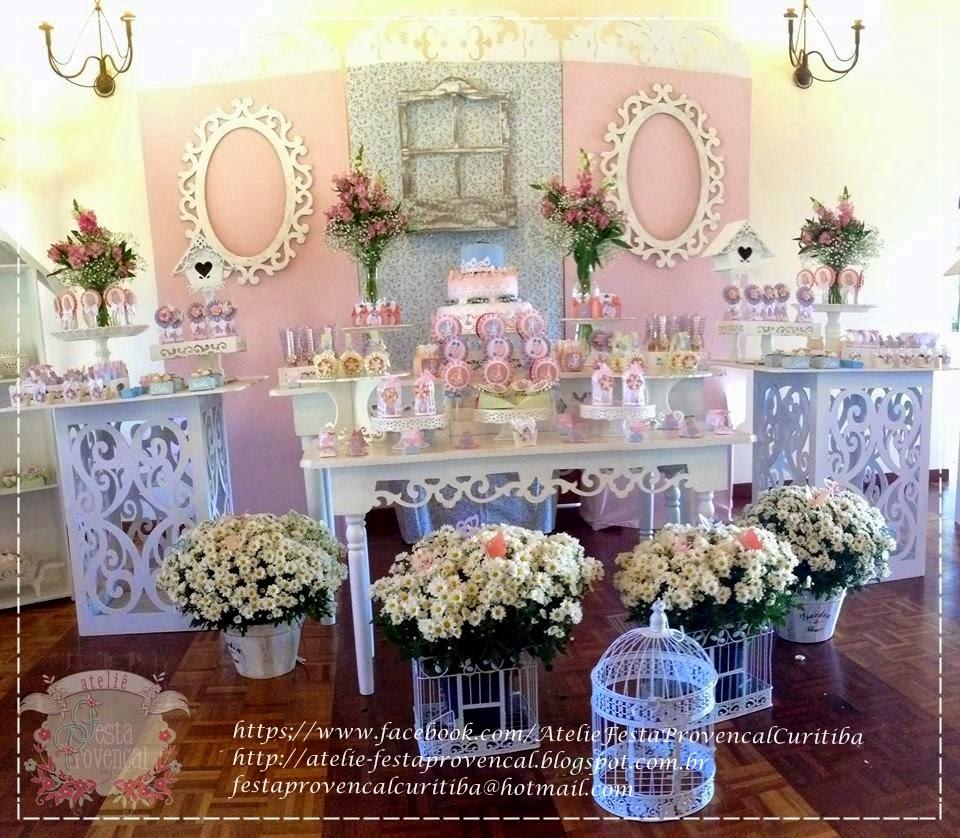 Ateliê Festa Provençal Festa Jardim Encantado para Isabella e