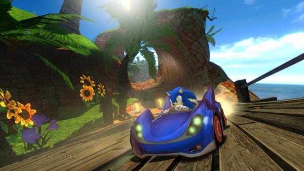 Sonic and SEGA All-Stars Racing PC Full Version Screenshot 1