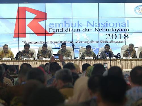 Rembuk Nasional Pendidikan dan Kebudayaan 2018