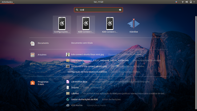 KDE Connect Indicator Ubuntu