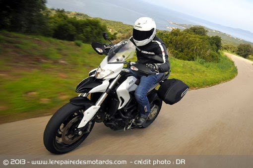 more than just wine: ducati hyperstrada: test ride of bike number 17