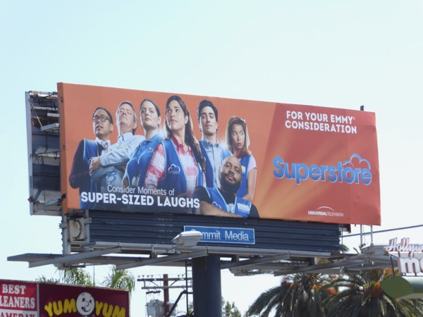 Superstore 2017 Emmy FYC billboard