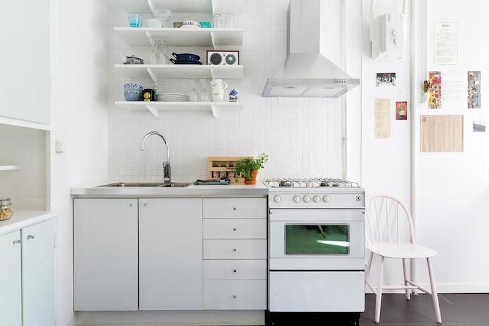cocina vieja actualizada